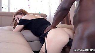Black Teen Aventus Naked Interracial Action - 41:02