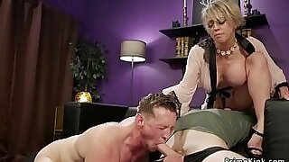 Big boobed milf tell her horny husband what she wants to do - 5:16