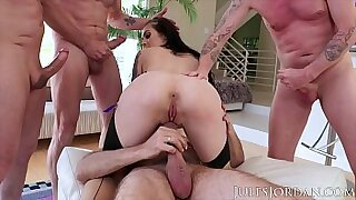 Chesty harina needs a gangbang in a place - 12:45