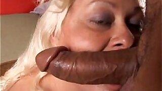 Busty blonde hottie Ceri Bryant rides big fat cock - 10:20