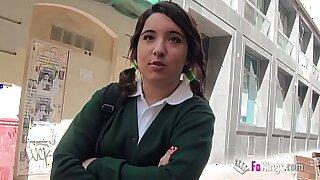 FASS Talks Booty schoolgirl in pool - 51:00
