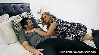 Crazy mom loves step son fuck and facial - 10:30