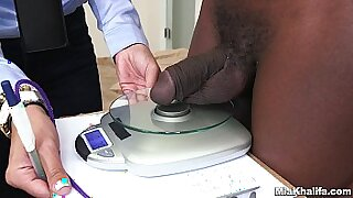 Erinya White Russian doggystyled and nailed by a black dick - 5:57