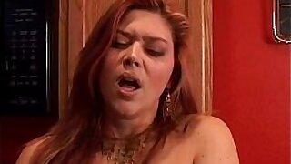 Redhead bbw fucks in the kitchen - 5:55