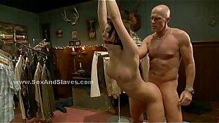 Lezdom threesome punishment pole bondage displays - 4:44