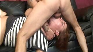 Dicks Travel A Bit Too Far Down A Latina Throat - 4:00