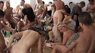 Party slut Girls Sucking and Fucking their Friends - 5:00