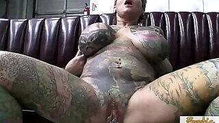 Exotic Tattooed MILF Having Hardcore Sex - 25:00