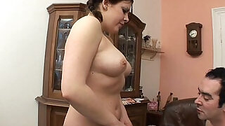 Chubby Stepdaughter In Pigtails Fucked By Her Stepdad - 10:00