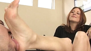 Shoe worship and Foot Fetish and Foot Smelling - 5:00