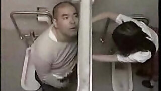 Teacher fuck student in toilet - 10:00