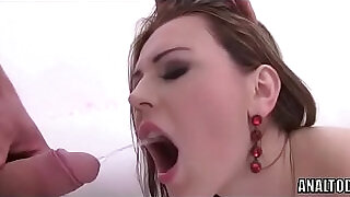 Double Anal Black huge Cock And Piss Swallow For Lucianna Karel - 40:00