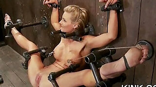Busty sexy girl submits to punishment - 5:00