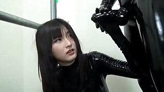 Japanese Latex Catsuit - 14:00
