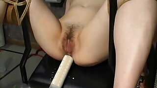 Asian slave tied up and toy fucked terrifically - 7:00