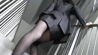a woman office worker modeling as an amateur model Juri - 11:00