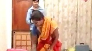 Unknown Telugu Aunty Hot Masala Compilation Seducing Bed Scene - 2:00