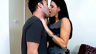 Stockinged India Summer gets fucked and facialized - 8:00