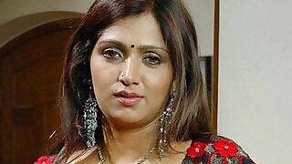 Bhuvaneswari Hot Indian Aunty rare saree drop clip - 1:24