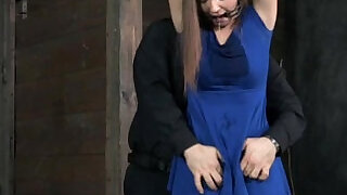 Mouth gagged submissive getting punished - 5:00