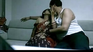 mature indian couple in lounge after party seducing each other sexual desire - 1:05