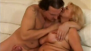 Older woman fucks a shy younger guy - 24:00