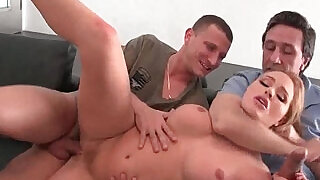 Dad and son fucking hard american busty blond - 5:00