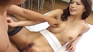 Hot Japanese babe Riko Tachibana fucked by a student - 8:00