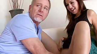 Step dad feeds horny ariana grand his big cock - 6:00