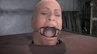 Busty MILF Orgasmed In Device Bondage - 7:00