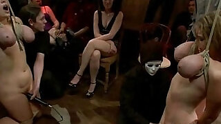 Huge tits, submissive housewife, dominated, bound - 5:00