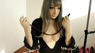 Doll self bondage Breath paly Fainted - 2:00