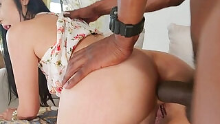 BBC loving japanese buttfucked on couch - 6:00