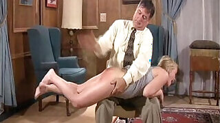 blonde whore gets her ass spanked hard style sex with a hand - 1:08