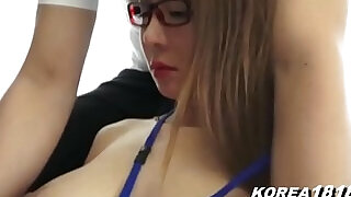 Pretty Korean in Glasses - 17:00