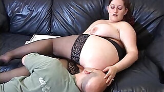 Big titted mistress lets man lick her pussy before her ass hole - 2:00