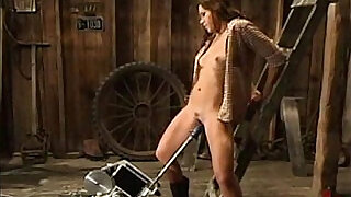 Horny Cowgirl Saddles Up - 5:00