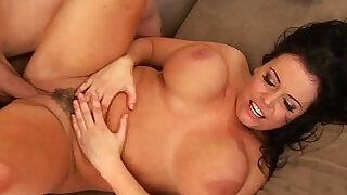 Brunette hottie with tits Angelica Sinn hardcore! - 5:00