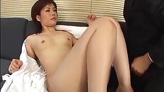 Yukino bends in doggy for a good fuck on the couch - 12:00