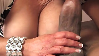 Dana Hayes gets fucked by a BBC in front of her son - 7:00