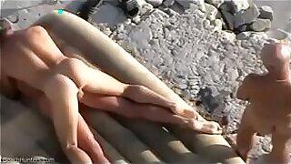 Bawdy cleft beach sex - 8:37
