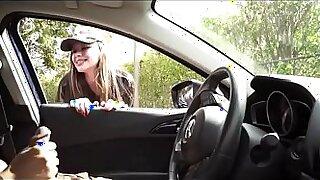 Incredible Veronica Robles enjoys doing back seat job fuck View more stuff - 9:19